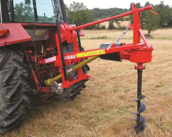 YANIGAV - Tarière mécanique axiale TA 130